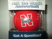 NEBRASKA HUSKERS Magic Answer 8 Ball NIB NCAA Game Day Outfitters
