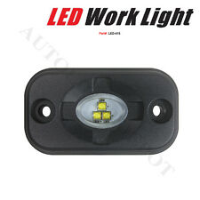 15WATTS LED WORK LIGHT CREE FLOOD BEAM FOG DRIVING LAMP TRUCK ATV TRAILER MARINE
