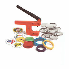 "Badge-A-Minit 2 1/4"" Button Hand Press Starter Kit #1007"
