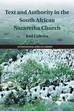 The International African Library: Text and Authority in the South African...