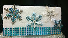 Snowflake cake decorations toppers 6,12, 24 sets Perfect for FROZEN style cake