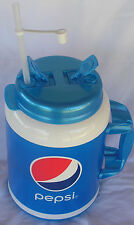 100 Oz Pepsi Plastic Insulated  Giant Travel Mug Whirley Drink Works