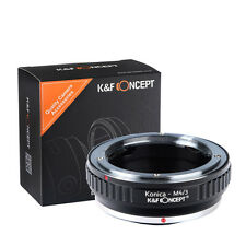 Konica AR Lens to Olympus Panasonic Micro Four Thirds m4/3 mount adapter ring