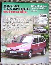 Revue technique automobile RENAULT  MEGANE Essence N°593.2 /R46