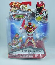 "Power Rangers Dino Super Charge - 5"" T-Rex Super Charge Red Ranger Action Figure"