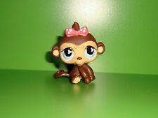 A1 FIGURINE PETSHOP LITTLEST PET SHOP SINGE FILLE GIRL MONKEY