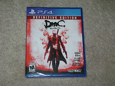 DMC DEVIL MAY CRY DEFINITIVE EDITION...PS4...***SEALED***BRAND NEW***!!!!!