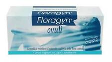 Floragyn Ovuli 6 x 2 gr. restores the physiological pH,soothes repairs & heals