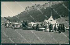Trento Moena Val di Fassa PIEGHINA Foto cartolina VK0979