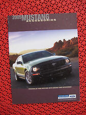 2005 Ford MUSTANG Accessories brochure