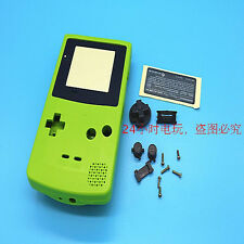 A Green Full Housing Shell Case Cover Parts for Nintendo Gameboy Color GBC