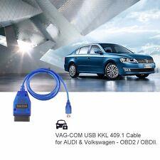 Kabel VAG-COM KKL 409.1 USB OBD2 II Diagnostic Scanner VW/Audi/Seat/Skoda A++