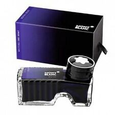 MONTBLANC PEN ROYAL BLUE INK INKWELL NEW IN BOX 60ml BEAUTIFUL BOTTLE