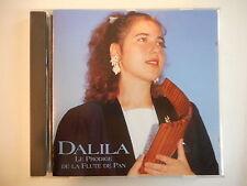 DALILA : LE PRODIGE DE LA FLUTE DE PAN [ CD ALBUM PORT GRATUIT ]