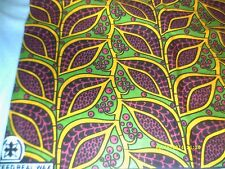 NEW AFRICAN ETHNIC PRINT WAX ANKARA FABRIC MATERIAL CLOTH 6 YARDS YDS