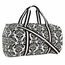 Vera Bradley FANFARE Large Duffle Travel Gym Aerobics Getaway Weekender Bag NWTs