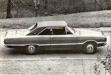 DODGE DART 1968 PERIOD PRESS PHOTOGRAPH.