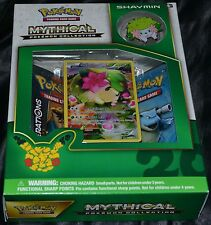 Shaymin Mythical Pokemon Collection Box Trading Cards Game Booster Pack NEW