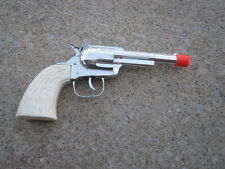 Vintage Used Pistol Pop Metal & Plastic Toy