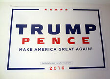 DONALD TRUMP FOR PRESIDENT 2016 MAKE AMERICA GREAT AGAIN SIGN POSTER PLACARD