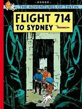 The Adventures of Tintin: Flight 714 to Sydney by Herge (Paperback, 2002)