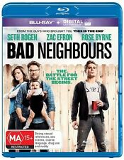 Bad Neighbours (Blu-ray, 2014) New and Sealed + Digital Code