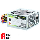 Widetech 550W Power Supply Quiet 120mm Fan Silent for Intel ,AMD PC desktops
