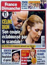 2008: CELINE DION_JACQUELINE MAILLAN_MATTHIEU CHEDID_DANIEL GUICHARD