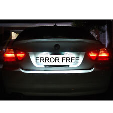 BMW E46 E91 E92 E60 E61 XENON WHITE LED NUMBER PLATE LIGHT ERROR FREE X3 X5 39