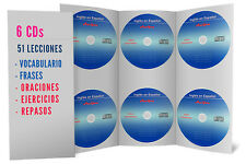 Curso de Ingles, 6 Audio CDs Aprenda Ingles FACIL