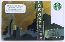 COLLECTABLE LIMITED EDITION 2014 LOS ANGELES STARBUCKS GIFT CARD NEW NEVER SWIPE