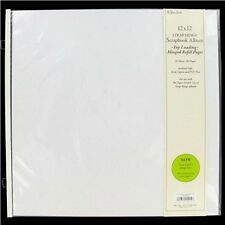 The Paper Studio10 TOP LOADING Refill Pages True 12x12 Strap Hinge Album 529339