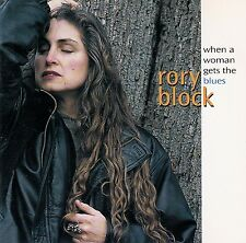 RORY BLOCK : WHEN A WOMAN GETS THE BLUES / CD (ROUNDER CD 3139)