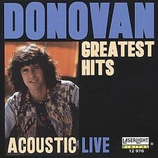 CD Acoustic Live  Greatest Hits - Donovan