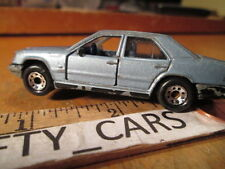MATCHBOX BLUE MERCEDES BENZ 300E-1/61 SCALE (DOORS OPENS) HAS PAINT CHIPS