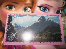 PANINI DISNEY FROZEN LA REINE DES NEIGES AUTOCOLLANT STICKER N° A1 BRILLANT