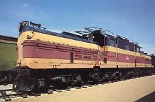 Postcard Milwaukee Road Bi Polar E-2 CMSTP Hiawatha