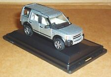 OXFORD DIECAST LAND ROVER DISCOVERY 3 ZERMATT SILVER 1:76 SCALE MODEL CAR TOY