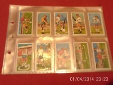 play better soccer by brooke bond full set of 40 in plastic sleeves