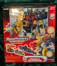 Transformers Energon Omega Supreme Electric New Sealed