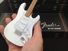 Official Licensed Fender Olympic White Stratocaster Miniature Guitar