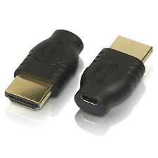 Micro HDMI socket Female to HDMI Male adapter extension convertor