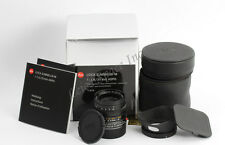 *Mint* Leica Summilux-M 1:1/4/35mm ASPH Black 6bit 35/1.4 Boxed