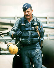 USAF Colonel Robin Olds F-4 Phantom Pilot Vietnam War Color American Hero Photo