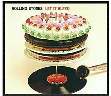 Let It Bleed - Rolling Stones (Vinyl Used Very Good) Clear Vinyl/Remastered