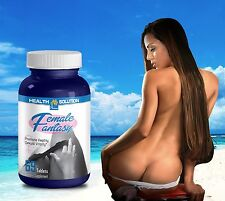 Sexual Pills FEMALE FANTASY Sexual Vitality Horny Goat Weed Maca (69 Tablets)
