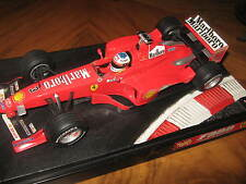 1:18 FERRARI  F399 M. Schumacher 1999 rebuilt Umbau full tabacco in showcase