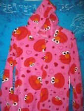 Sesame Street ELMO Hooded Footed Pajamas Costume Footie 1 PC M L or XL NWT