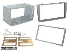 Peugeot 308 07 on Silver Double Din Car Stereo Fitting Kit Facia CT23PE03