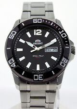Orient Black Dial EM76001B MEN'S CEM76 Series Mechanical Movement Diver Watch